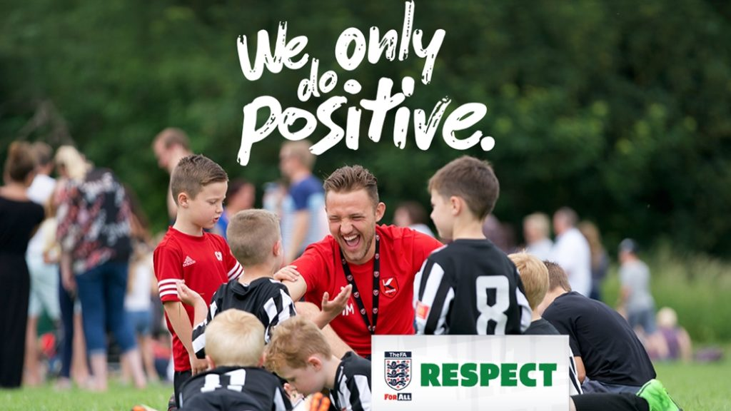 We Only Do Positive Respect Campaign 1400 V1